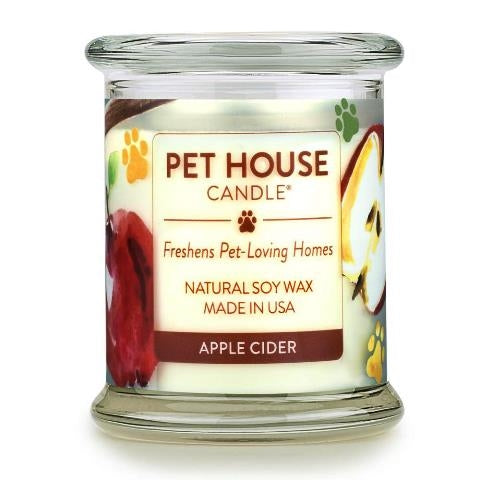 ONE FUR ALL PET HOUSE CANDLE - APPLE CIDER