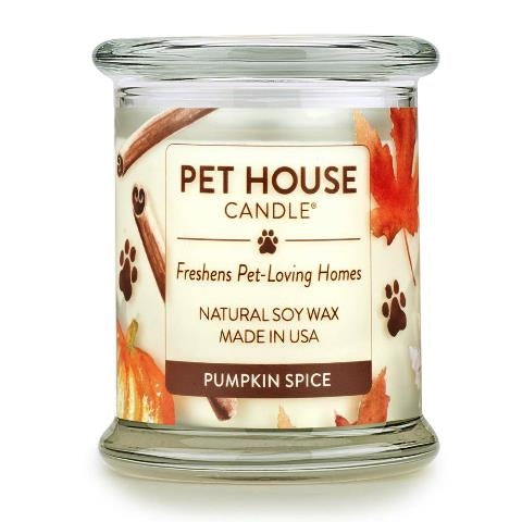 ONE FUR ALL PET HOUSE CANDLE - PUMPKIN SPICE
