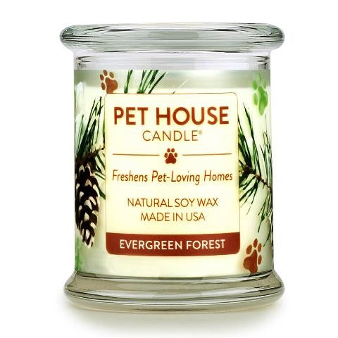 ONE FUR ALL PET HOUSE CANDLE - EVERGREEN FOREST