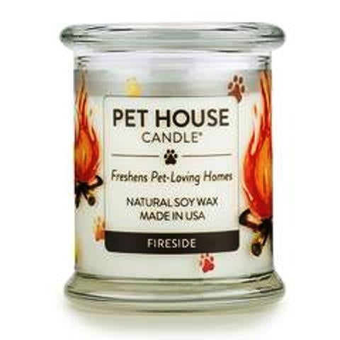 ONE FUR ALL PET HOUSE CANDLE - FIRESIDE