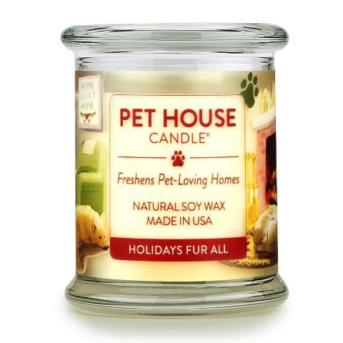 ONE FUR ALL PET HOUSE CANDLE - HOLIDAYS FUR ALL