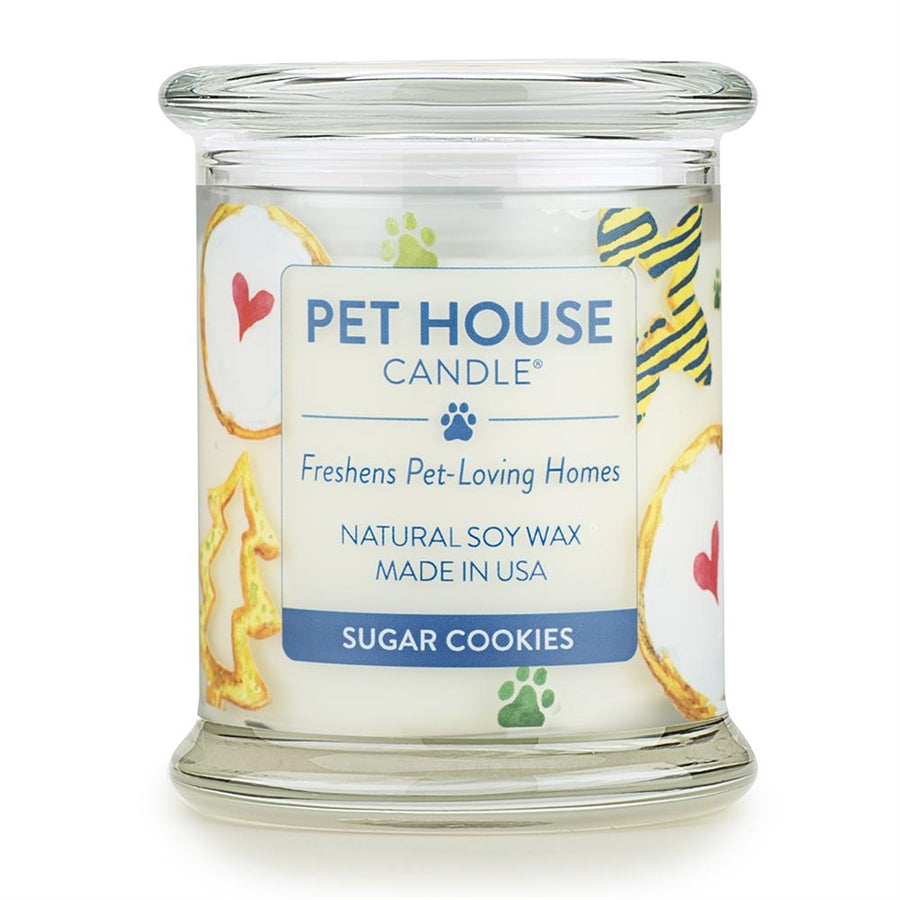ONE FUR ALL PET HOUSE CANDLE - SUGAR COOKIES