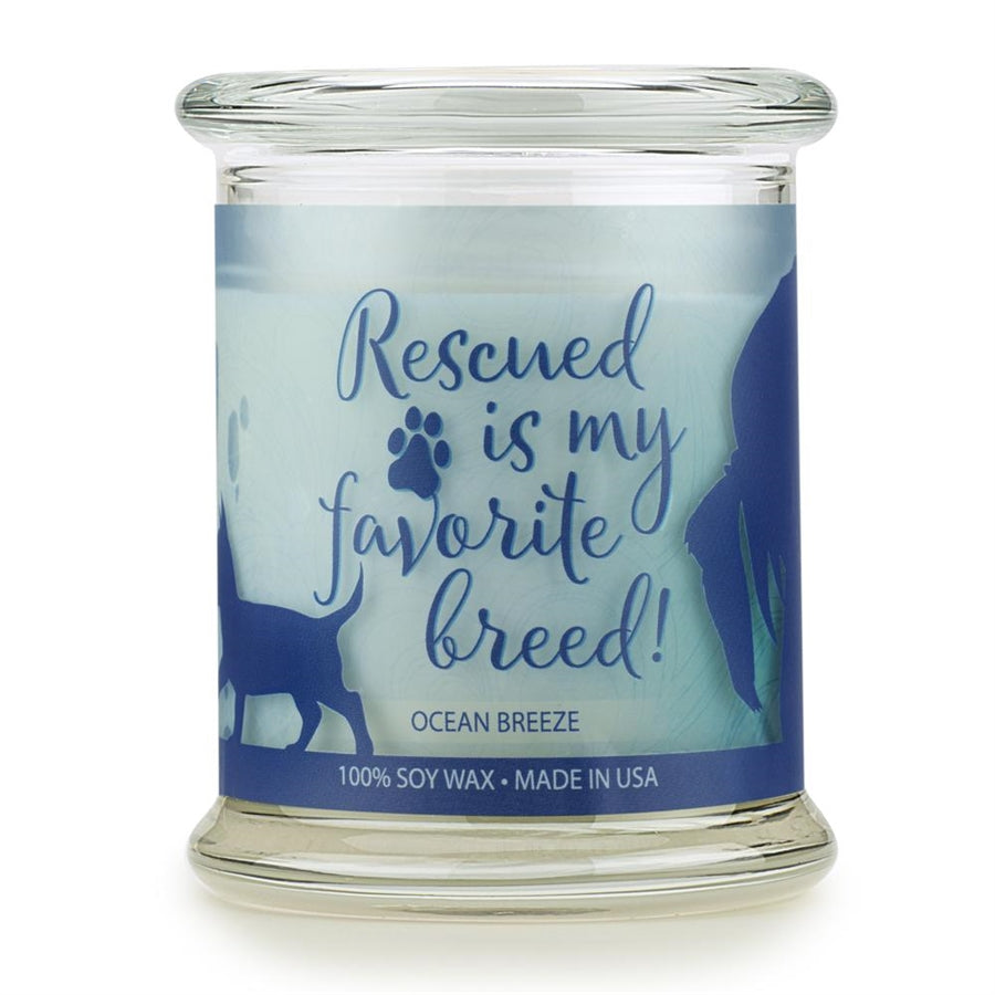 ONE FUR ALL PET HOUSE CANDLE - OCEAN BREEZE