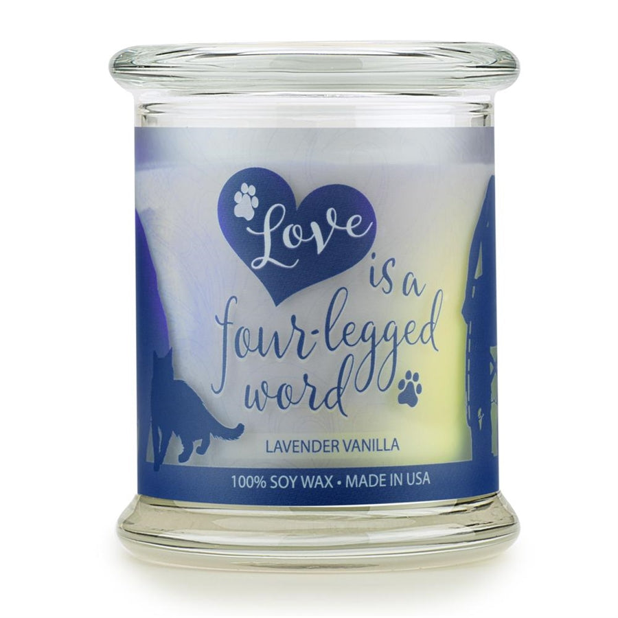 ONE FUR ALL PET HOUSE CANDLE - LAVENDER VANILLA