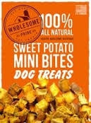 Wholesome Pride Sweet Potato Bites Dog Chew Treats - 8 oz