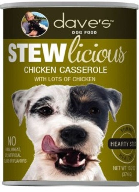 Dave's Dog Food STEWlicious Chicken Casserole - 13.2 oz.