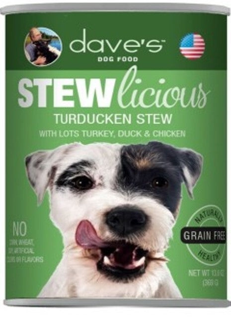 Dave's Dog Food STEWlicious Turducken Stew - 13.2 oz.