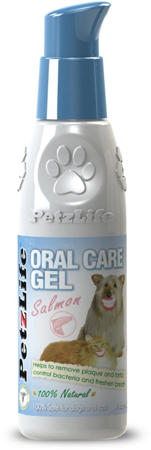 PetzLife Oral Care Dental Salmon Gel for Dogs - 4 oz.