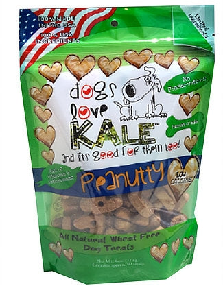 Dogs Love Kale Peanutty Treats - 6 oz.