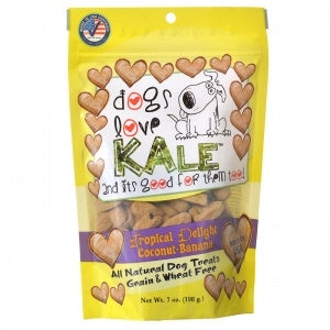 Dogs Love Kale Tropical Delight Treats - 6 oz.