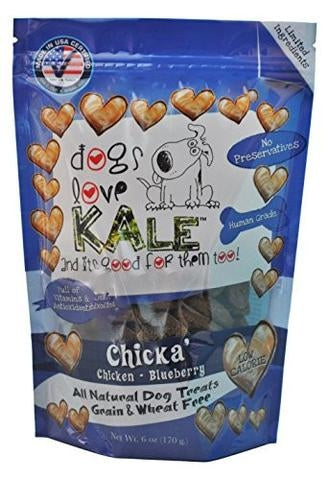 Dogs Love Kale Chicka Treats - 7 oz.