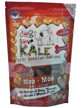 Dogs Love Kale Moo Moo Treats - 7 oz.