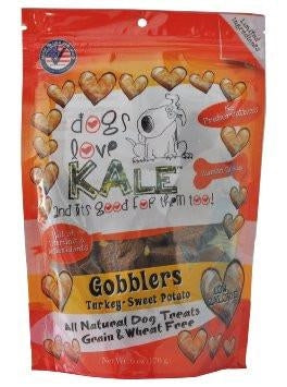Dogs Love Kale Gobblers Treats - 6 oz.