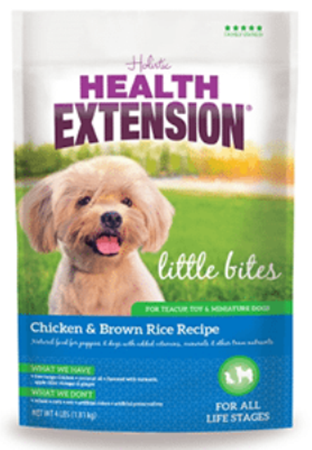 Health Extension Little Bites Chicken & Brown Rice Dry Dog Food
