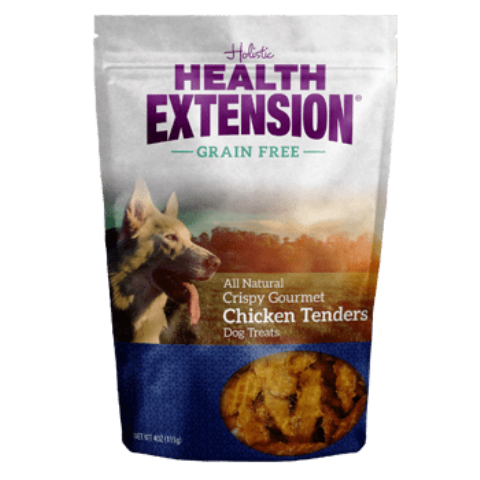 Health Extension All Natural Crispy Gourmet Chicken Tenders Dog Treat - 4.0 oz.