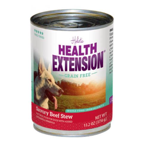 Health Extension Grain Free Savory Beef Stew Dog Food - 13.2 oz.