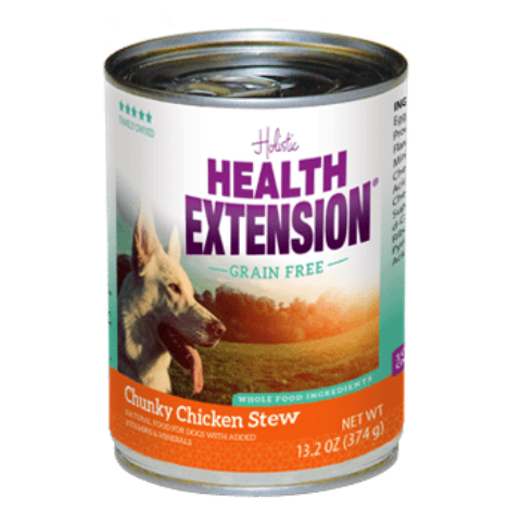 Health Extension Grain Free Chunky Chicken Stew Dog Food - 13.2 oz.