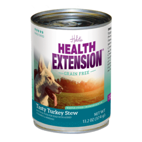 Health Extension Grain Free Tasty Turkey Stew Dog Food - 13.2 oz.