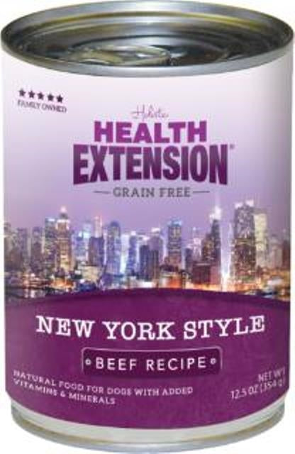 Health Extension Grain Free New York Style Dog Food - 12.5 oz.