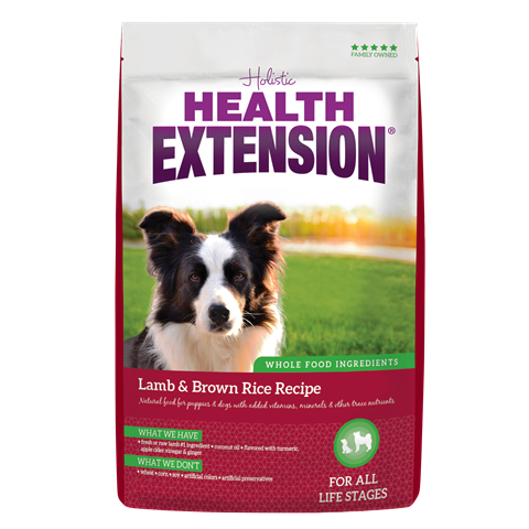Health Extension Lamb & Brown Rice Recipe Dog Food