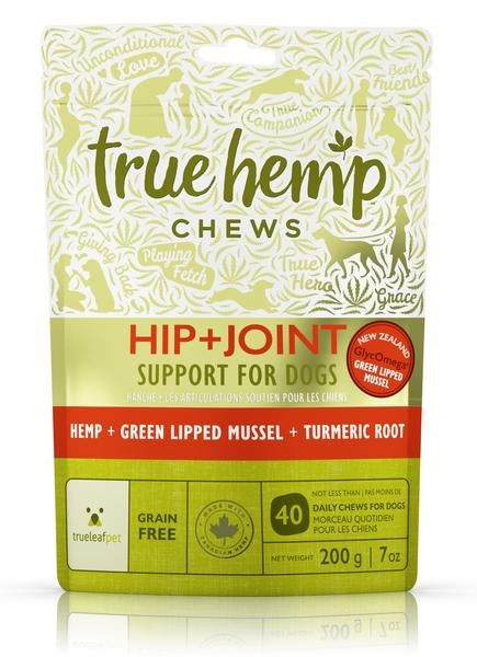 True Hemp Hip & Joint Functional Dog Treat - 7 oz.