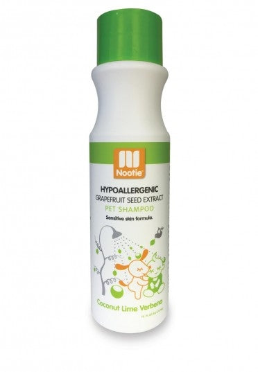 Nootie Hypo/Allergenic & Germ Fighting Shampoo Coconut Lime Verbena for Dogs - 16 fl oz