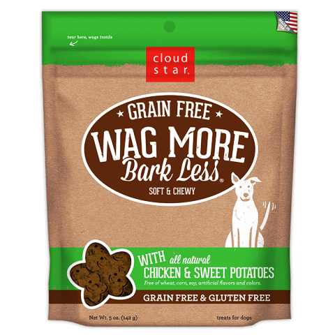 Cloud Star Wag More Bark Less Soft Bakes Dog Treats with Chicken & Sweet Potatoes - 5 oz.