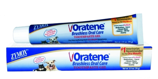Zymox Oratene Toothpaste Gel for Dogs - 2.5 oz.