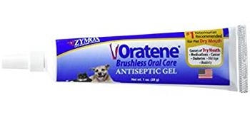 Zymox Oratene Aniseptic Gel for Dogs - 1.0 oz.