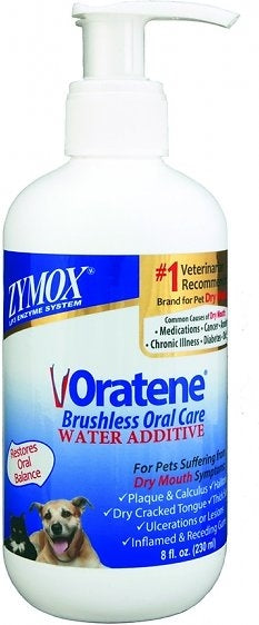 Zymox Oratene Brushless Oral Care Water Additive for Dogs - 4 fl. oz.