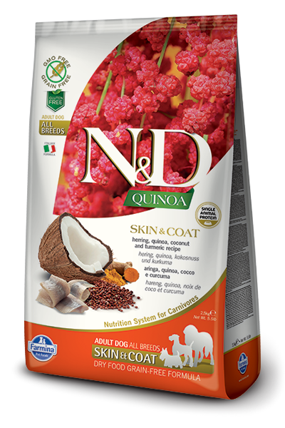 Farmina N&D Quinoa Skin & Coat Herring Dog Food