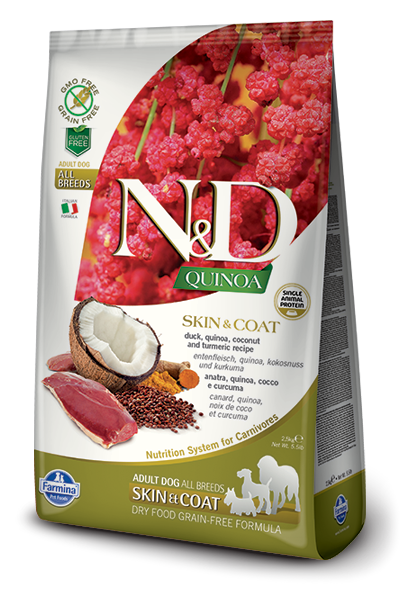 Farmina N&D Quinoa Skin & Coat Duck Dog Food