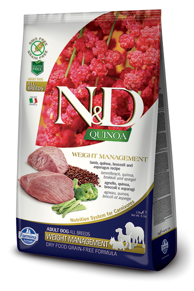 Farmina N&D Quinoa Weight Management Lamb Dog Food