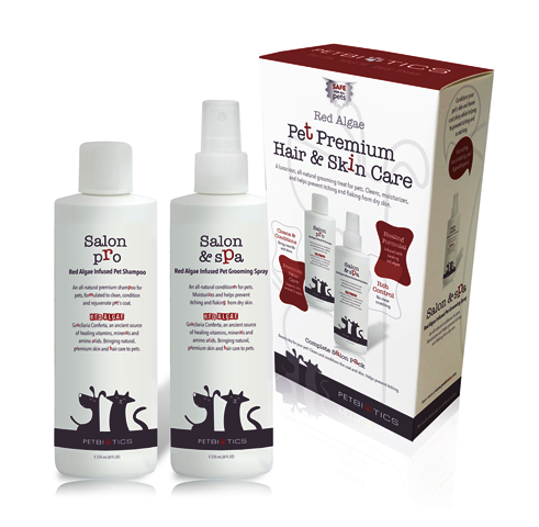 Petbiotics Salon Pro + Spa Kit - Shampoo & Conditioner