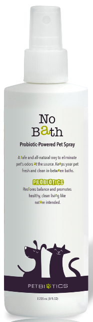 Petbiotics No Bath Probiotic Pet Spray - 8 fl oz