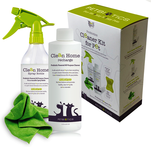 Petbiotics Probiotic Cleaner Kit for Pets & Home