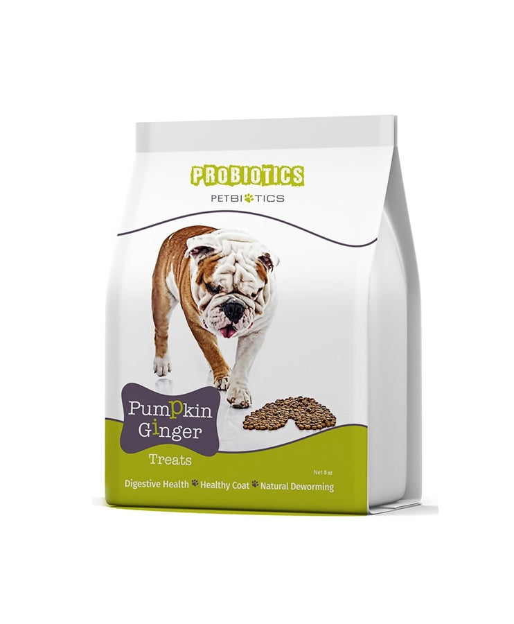 Petbiotics Pumpkin Ginger Dog Treats