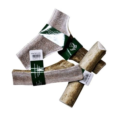 Pet Pros Choice Elk Slpit Antler Dog Chew Treat - Large