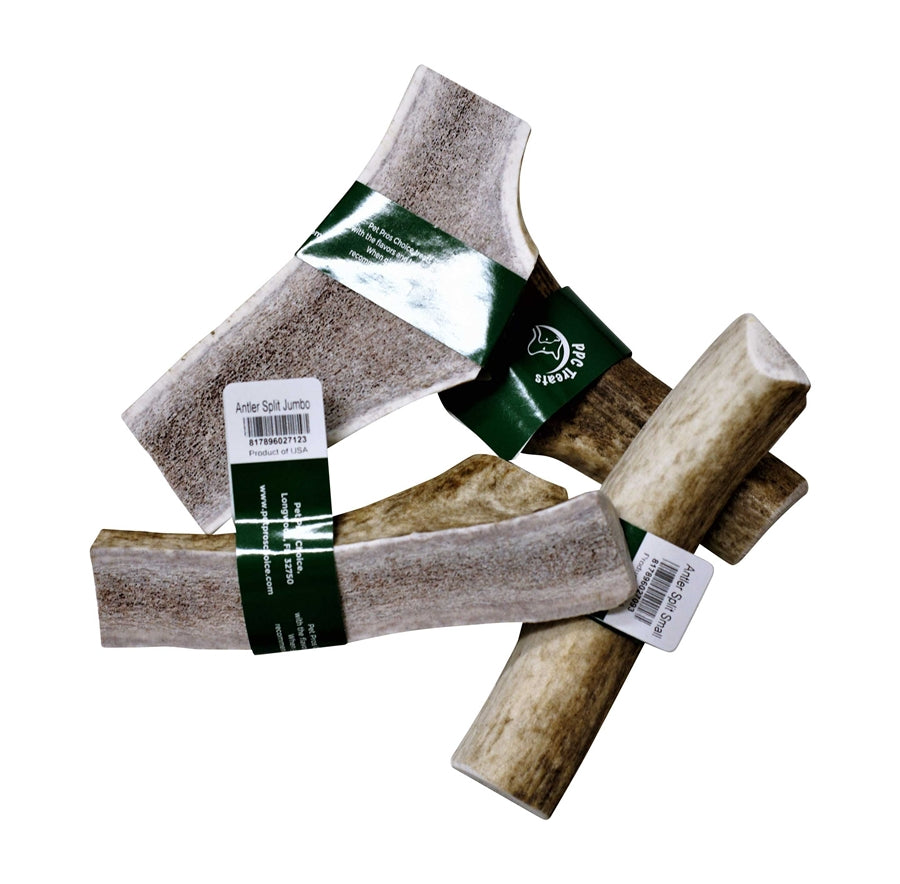 Pet Pros Choice Elk Split Antler Dog Chew Treat - Small