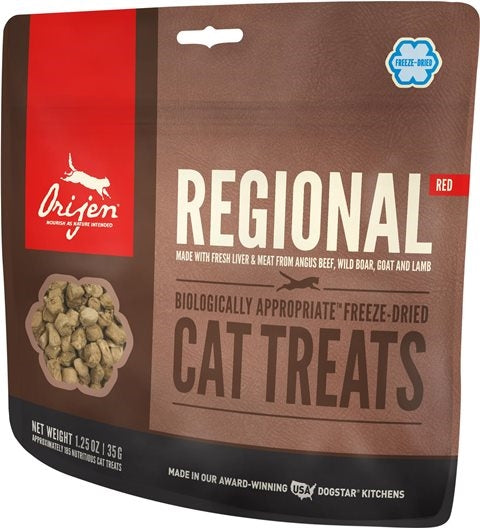 Orijen Freeze Dried Regional Red Cat Treat - 1.25 oz.
