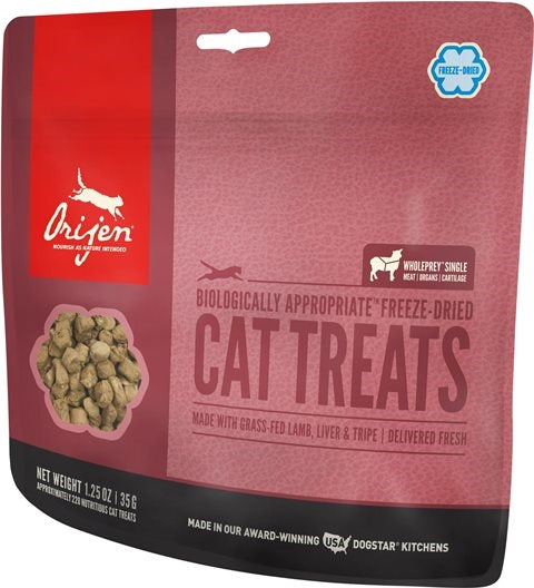 Orijen Freeze Dried Grass-Fed Lamb Cat Treat - 1.25 oz.