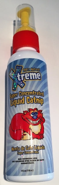 Synergy Labs 100% Natural Xtreme Super Concentrated Liquid Catnip Spray - 4 fl. oz.