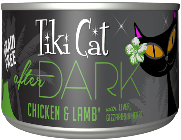 Tiki Cat Grain Free After Dark Chicken & Lamb Cat Food - 2.8 oz.