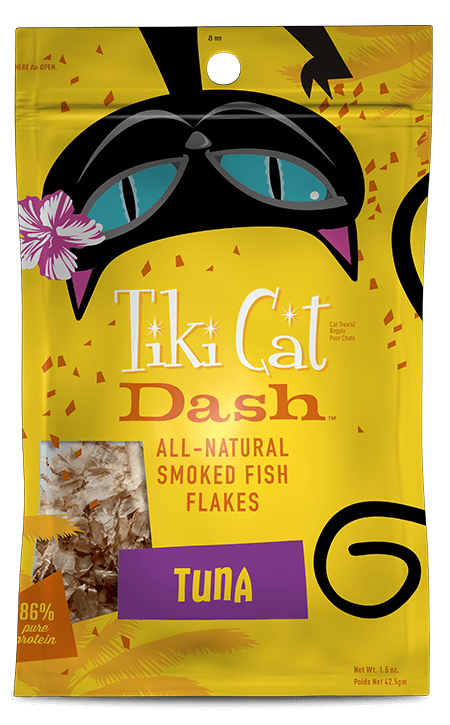 Tiki Cat Dash All Natural Smoked Tuna Flakes - 1.5 oz.