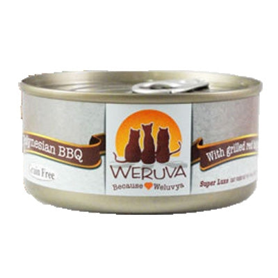 Weruva Polynesian BBQ for Cats - 3 oz.
