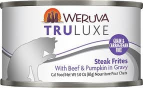 Weruva Truluxe Steak Frites for Cats - 3 oz.
