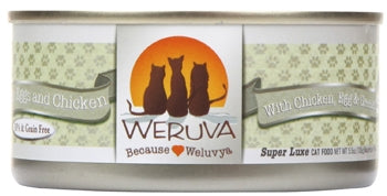 Weruva Green Eggs and Chicken for Cats - 5.5 oz.
