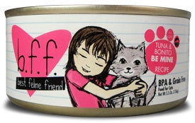 BFF by Weruva Tuna & Bonito BE MINE in Aspic Recipe Cat Food - 3.0 oz.