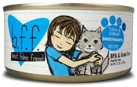 BFF by Weruva Tuna & Shrimp SWEETHEARTS Recipe in Gravy Cat Food - 3.0 oz.