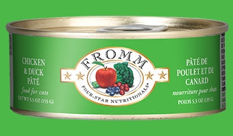 Fromm Chicken & Duck Pate' for Cats - 5.5 oz.